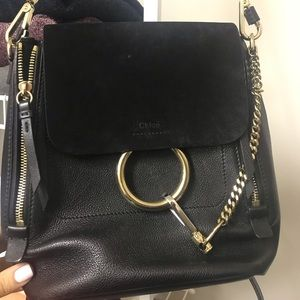 Chloe Faye Backpack Black